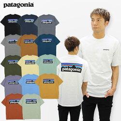 パタゴニア(patagonia)メンズP-6ロゴレスポンシビリティーS/SL(MensP-6LogoResponsibili-Tee)メンズ半袖Tシャツゆうパケット送料無料[AA-2]