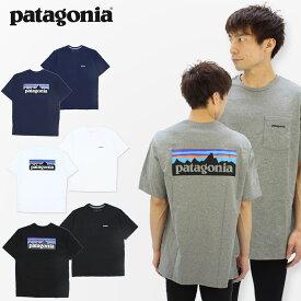 パタゴニア(patagonia)メンズ P-6ロゴ ポケット レスポンシビリティー S/SL (Mens P-6 Logo Pocket Responsibili-Tee) 半袖 Tシャツ/メンズ [AA]