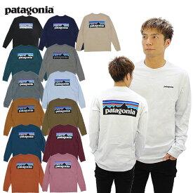 パタゴニア(patagonia)メンズ ロングスリーブ P-6ロゴ レスポンシビリティー L/SL (Mens Long-Sleeved P-6 Logo Responsibili-Tee) 長袖/ロンT Tシャツ/メンズ [AA]