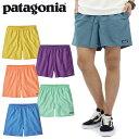 パタゴニア(patagonia) メンズ バギーズ ショート 5インチ(Mens Baggies Shorts 5inch) ハーフパンツ/ショートパンツ/メンズ[BB]