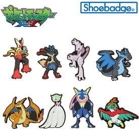 【ゆうパケット可】ポケットモンスター XY ポケモン シューバッジ (Pokemon Shoebadge)[AA-2]