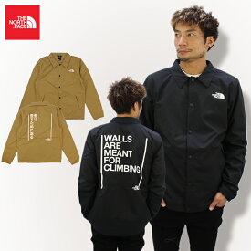 ザ・ノース フェイス(THE NORTH FACE) Mens Walls Are Meant For Climbing Coaches Jacket コーチジャケット /アウター/ナイロンジャケット/男性用/メンズ 送料無料 海外企画 [CC]