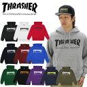 【ポイント10倍】スラッシャー(THRASHER) MAG HOOD SWEAT(TH8501)プルオーバー スウェット フード/メンズ/男性用[BB]