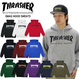 スラッシャー(THRASHER) MAG HOOD SWEAT(TH8501)プルオーバー スウェット フード/メンズ/男性用 ポイント10倍 国内正規品 [BB]