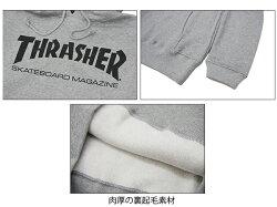 【ポイント10倍】スラッシャー(THRASHER)MAGHOODSWEAT(TH8501)プルオーバースウェットフード/メンズ/男性用[BB]