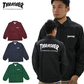 スラッシャー(THRASHER) MAG COACH JACKET (TH8901C) メンズ コーチ ジャケット アウター ポイント10倍 送料無料 [BB]
