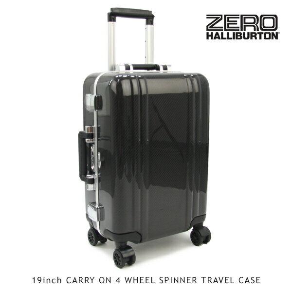 【送料無料】ゼロハリバートン(ZERO HALLIBURTON) カーボンファイバー (19inch CARRY ON 4 WHEEL SPINNER TRAVEL CASE)【楽ギフ_包装選択】[FF]