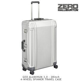 ゼロハリバートン(ZERO HALLIBURTON) ジオ アルミニウム 3.0(28inch 4-WHEELED SPINNER TRAVEL CASE)スーツケース/ビジネス ケース【14】 送料無料