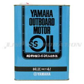YAMAHA(ヤマハ)船外機SSオイル1本 スチール缶 4L