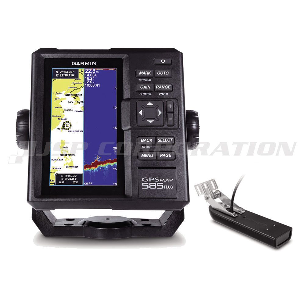 GARMIN(ガーミン)6型GPS魚探 GPSMAP 585 PlusGT23M-TM振動子セット