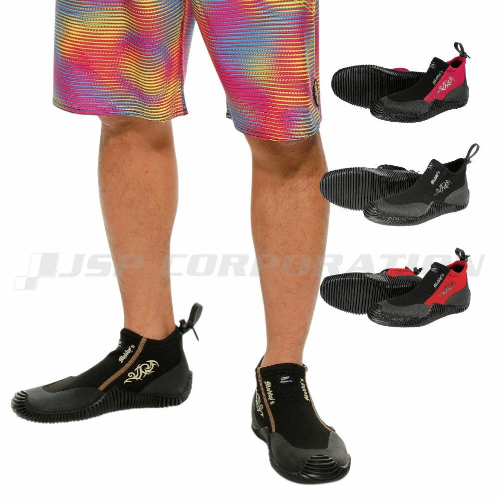 マリンシューズ 靴 ビーチシューズ MOBBY'S モビーズ / マリンスポーツ 水上バイク ジェットスキー シュノーケル スノーケル