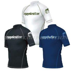 ラッシュガード 大人用 UV Spyder ラッシュガード 半袖 メンズ SPYDERFLEX