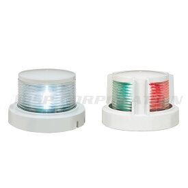 航海灯 LED 第二種 白灯 & 両色灯 2個セット 小糸製作所 小型船舶検査対応