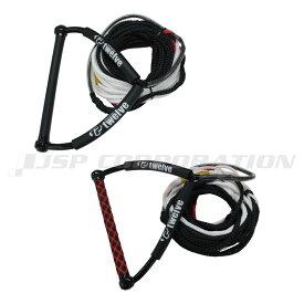 ウェイクハンドル&ライン ウェイクボード ハンドル ロープ セット 22.5m(75ft=60+5+5+ハンドル5)