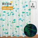 【サンプルあり】Birdie(バーディ) ものしりシリーズ 既製カーテン 子供部屋 キッズ かわいい ドレープ タッセル フッ…