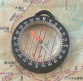 MIZAR ミザールテック【オイル式ポケットコンパス ルーペ付き ブラック GS-33】