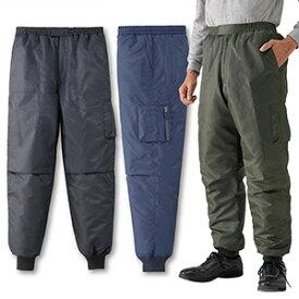 期間限定 中綿入りフライトパンツ(NP77591) 「紳士 メンズ パンツ」
