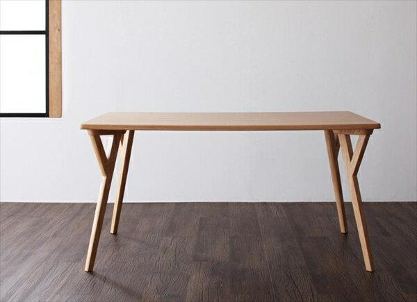 モダンインテリアダイニング【ULALU】ウラル テーブル(W140) 「天然木 木目 ダイニングテーブル テーブル」