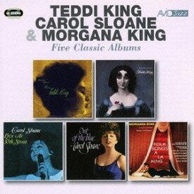 キング〜ファイブ・クラシック・アルバムス[CD] / テディ・キング/キャロル・スローン/モーガナ・キング