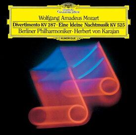 モーツァルト: セレナード第13番「アイネ・クライネ・ナハトムジーク」、ディヴェルティメント第15番 [SHM-CD][CD] / ヘルベルト・フォン・カラヤン (指揮)