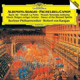 アルビノーニのアダージョ/パッヘルベルのカノン 他 [SHM-CD][CD] / ヘルベルト・フォン・カラヤン (指揮)