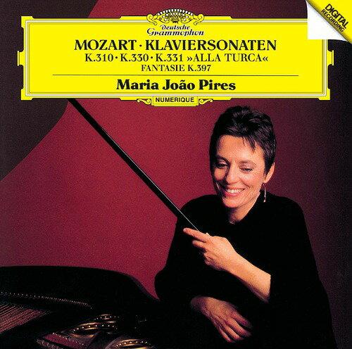 モーツァルト: ピアノ・ソナタ第8番・第10番・第11番「トルコ行進曲付」、幻想曲ニ短調K397 [SHM-CD][CD] / マリア・ジョアン・ピリス (ピアノ)