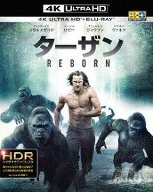 ターザン: REBORN [4K ULTRA HD & 3D & 2Dブルーレイセット] [初回仕様限定版][Blu-ray] / 洋画