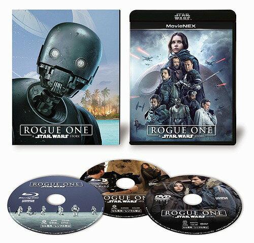 ローグ・ワン/スター・ウォーズ・ストーリー MovieNEX [Blu-ray+DVD] [初回版][Blu-ray] / 洋画