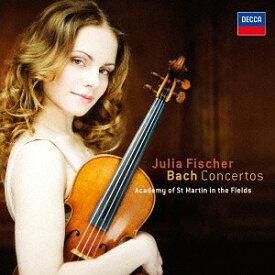 J.S.バッハ: ヴァイオリン協奏曲 [SHM-CD][CD] / ユリア・フィッシャー (ヴァイオリン)