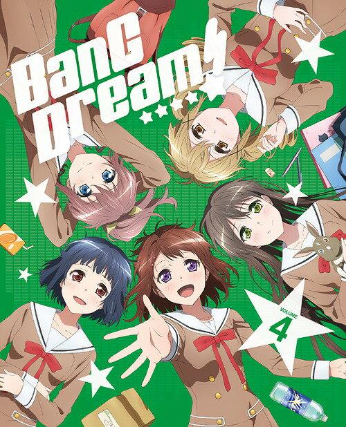 BanG Dream! [バンドリ!] Vol.4[Blu-ray] / アニメ