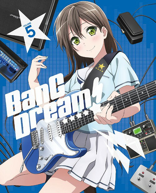 BanG Dream! [バンドリ!] Vol.5[Blu-ray] / アニメ