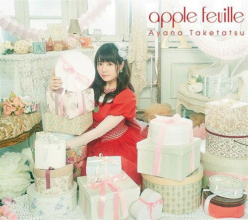 apple feuille [CD+Blu-ray][CD] / 竹達彩奈