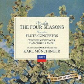 ヴィヴァルディ: 四季、他 [限定盤][CD] / カール・ミュンヒンガー (指揮)