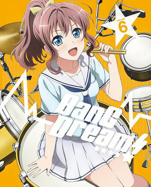 BanG Dream! [バンドリ!] Vol.6[Blu-ray] / アニメ