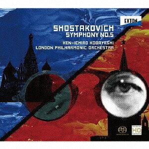 ショスタコーヴィチ: 交響曲 第5番[CD] / 小林研一郎、ロンドン・フィルハーモニー管弦楽団