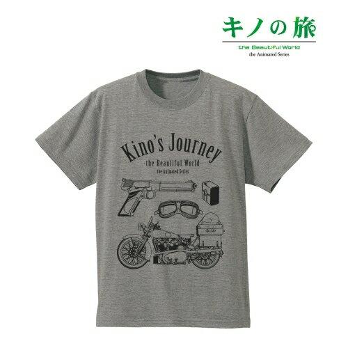 【アルマビアンカ】キノの旅 -the Beautiful World- the Animated Series ラインアートTシャツ メンズ M[グッズ]