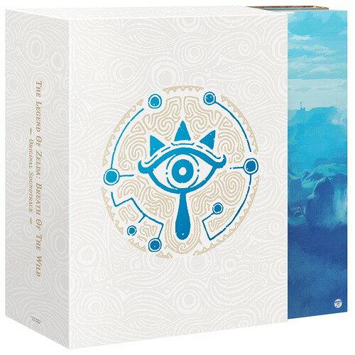 ゼルダの伝説 ブレス オブ ザ ワイルドオリジナルサウンドトラック [5CD+プレイボタン] [初回数量限定生産盤][CD] / ゲーム・ミュージック