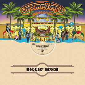DIGGIN' DISCO presented by CAPTAIN VINYL[CD] / オムニバス