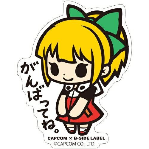 【カプコン】CAPCOM x B-SIDE LABEL ステッカー ロックマン11 ロールちゃん[グッズ]