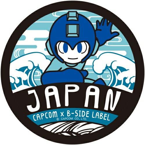 【カプコン】CAPCOM x B-SIDE LABEL ステッカー ロックマン11 和風ロックマン[グッズ]