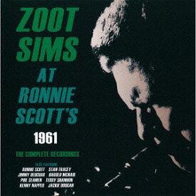 アット・ロニー・スコッツ1961ザ・コンプリート・レコーディングス [完全限定生産][CD] / ズート・シムズ