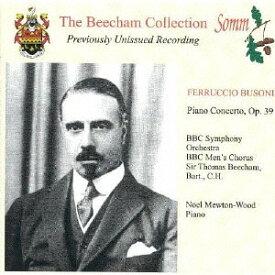 ビーチャム・コレクション-ブゾーニ: ピアノ協奏曲[CD] / クラシックオムニバス