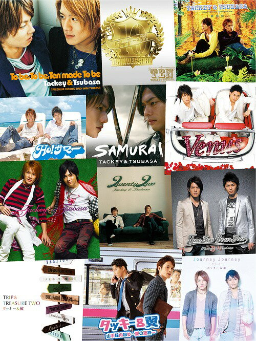 Thanks Two you [5CD+Blu-ray/初回盤][CD] / タッキー&翼