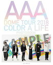 AAA DOME TOUR 2018 COLOR A LIFE PHOTOBOOK[本/雑誌] (単行本・ムック) / AAA