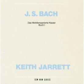J.S.バッハ: 平均律クラヴィーア曲集 第1巻 [UHQCD] [初回限定盤][CD] / キース・ジャレット (ピアノ)