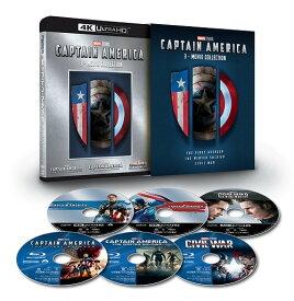 キャプテン・アメリカ: 4K UHD 3ムービー・コレクション [3 4K ULTRA HD + 3 Blu-ray] [数量限定][Blu-ray] / 洋画