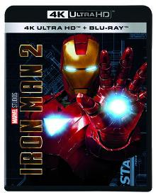 アイアンマン 2 4K UHD [4K ULTRA HD + Blu-ray][Blu-ray] / 洋画