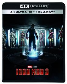 アイアンマン 3 4K UHD [4K ULTRA HD + Blu-ray][Blu-ray] / 洋画