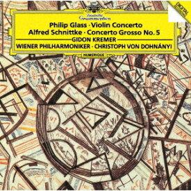 グラス: ヴァイオリン協奏曲/シュニトケ: 合奏協奏曲第5番 [SHM-CD][CD] / ギドン・クレーメル (ヴァイオリン)