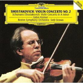 ショスタコーヴィチ: ヴァイオリン協奏曲第2番 他 [SHM-CD][CD] / ギドン・クレーメル (ヴァイオリン)